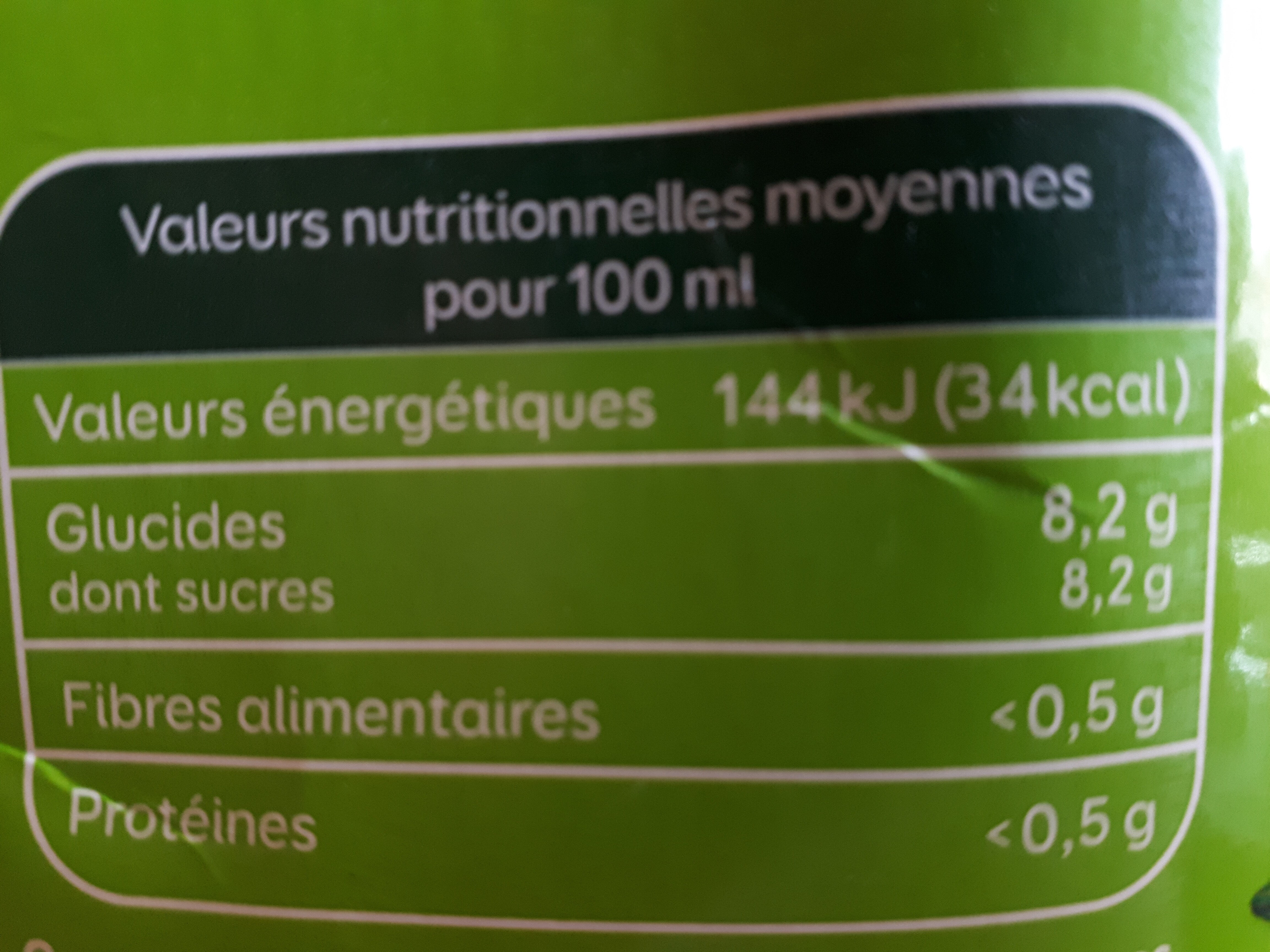 Le Bio Orange - Ingrediënten