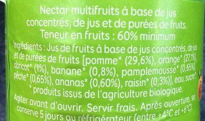 Le p'tit bio - Ingredients - fr