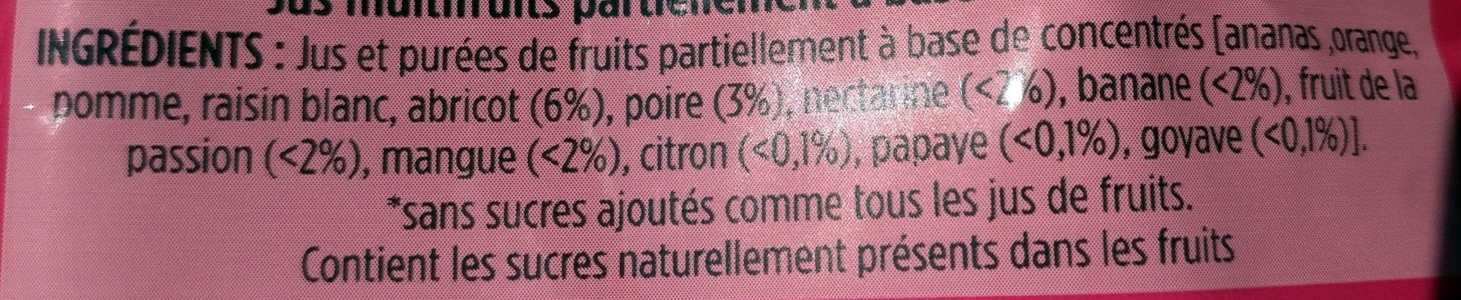 Beurette pocket - Ingrediënten - fr