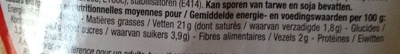 Frites goût ketchup - Nutrition facts