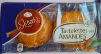 6 tartelettes aux amandes - Product - fr