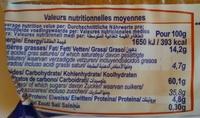 6 tartelettes aux amandes - Voedingswaarden - fr