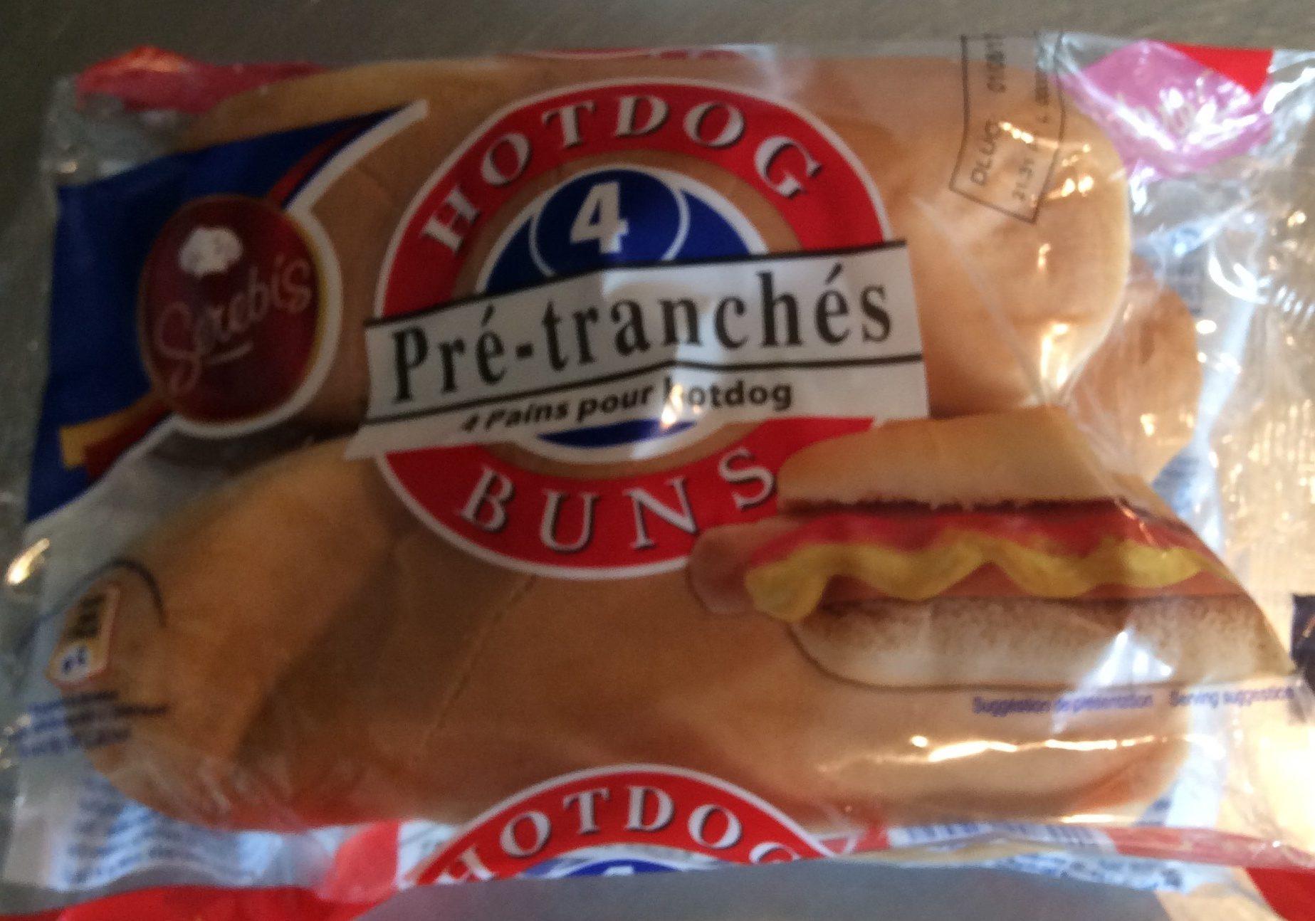 Pains hot dog - Produit - fr