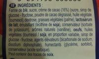 Mini Muffins fourrés choco - Ingrédients - fr