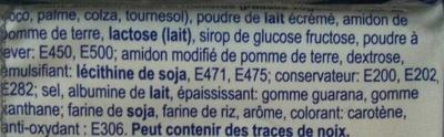 Carrés au Beurre - Ingredients
