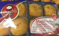 Colis de 12 paquets de Magdalenas fourrées fraise x 8 - Produit