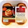 4 Bouchées Traiteur feuilleté au beurre - Product