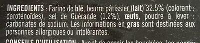 4 Bouchées Traiteur - Ingrediënten