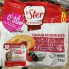 Les Gourmandises 6 Gâteaux façon Cheesecake & Coulis de Fruits Rouges - Produit