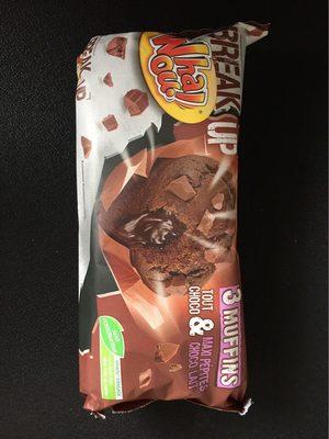 Muffins Tout Choco et Maxi Pépites Choco Lait - Product - fr