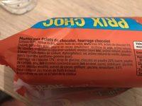 Muffins pepites break up - Ingrediënten