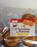 Tartelettes aux pommes - Produit