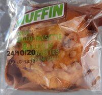 Muffin gout choco noisettes et noisettes caractérisées - Produit - fr