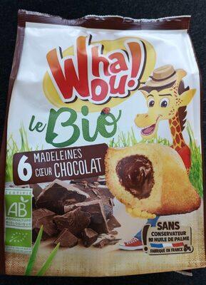 Madeleines bio chocolat - Product - fr