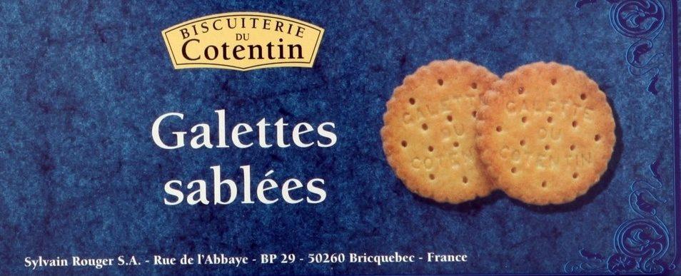 Les Cotentines - Galettes Sablées - Produit - fr