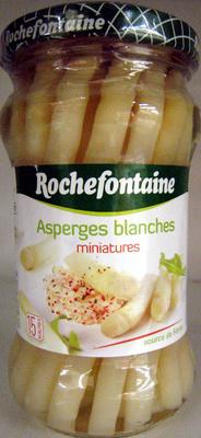 Asperges blanches miniatures Rochefontaine - Produit - fr