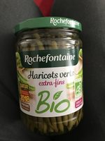 Rochefontaine Haricots Verts Extra Fins Bio 530 g - Prodotto - fr