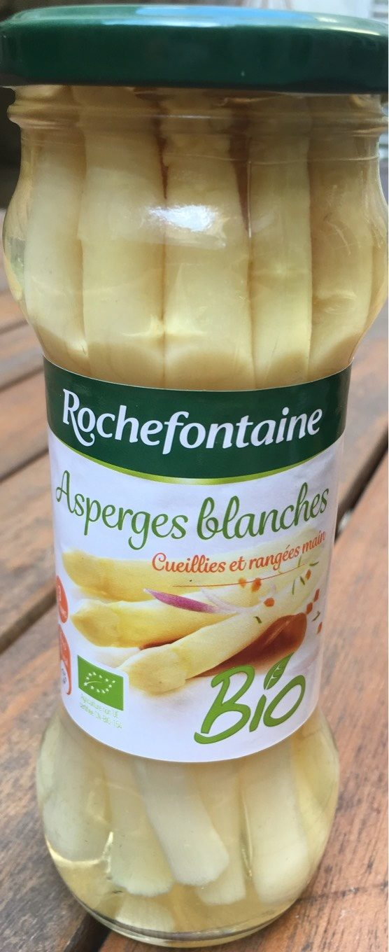 Asperges bio blanches moyennes Rochefontaine - Product