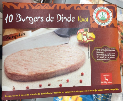 Burgers de dinde Halal - Produit - fr