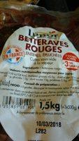 Betteraves rouges - Produit - fr