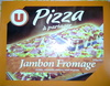 Pizza à partager, Jambon Fromage (cheddar, edam et gouda), Surgelée - Product