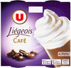 Dessert légeois café et crème fouettée - Produit
