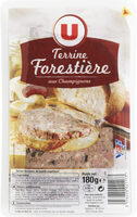 Terrine forestière goût champignons tranché - Produit - fr
