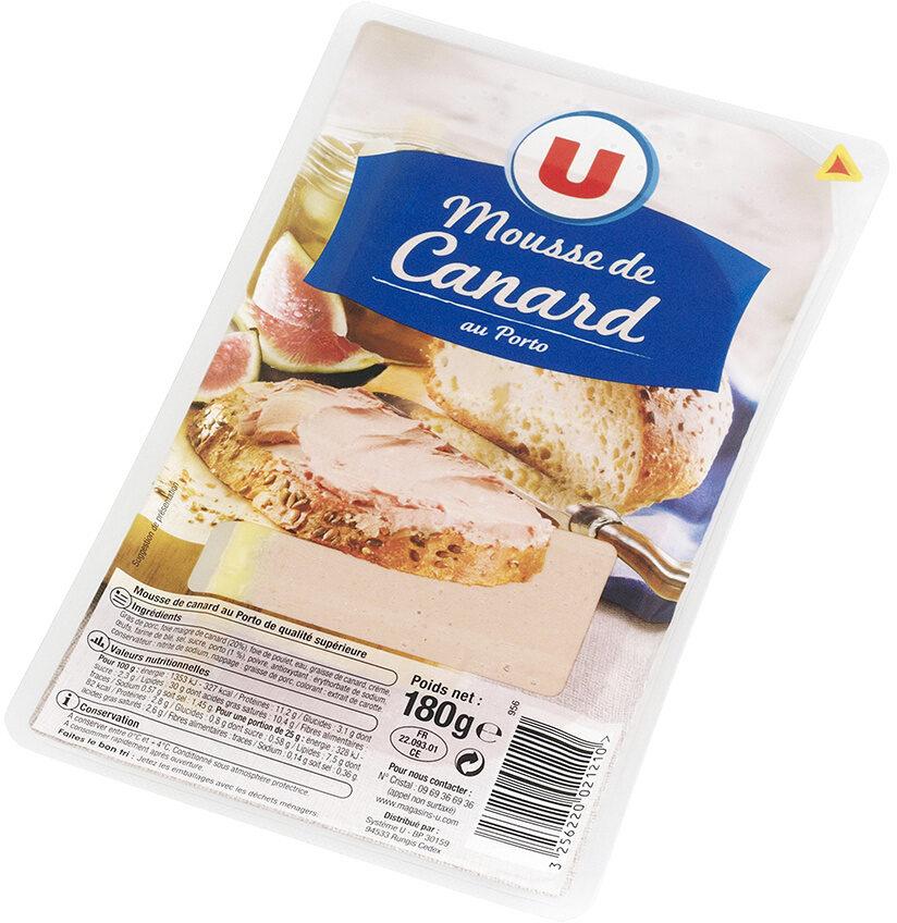 Mousse canard au porto qualité supérieure - Product
