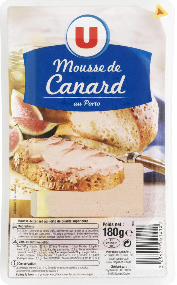 Mousse canard au porto qualité supérieure - Product - fr