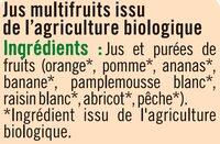 Pur jus Multifruits - Ingredienti - fr