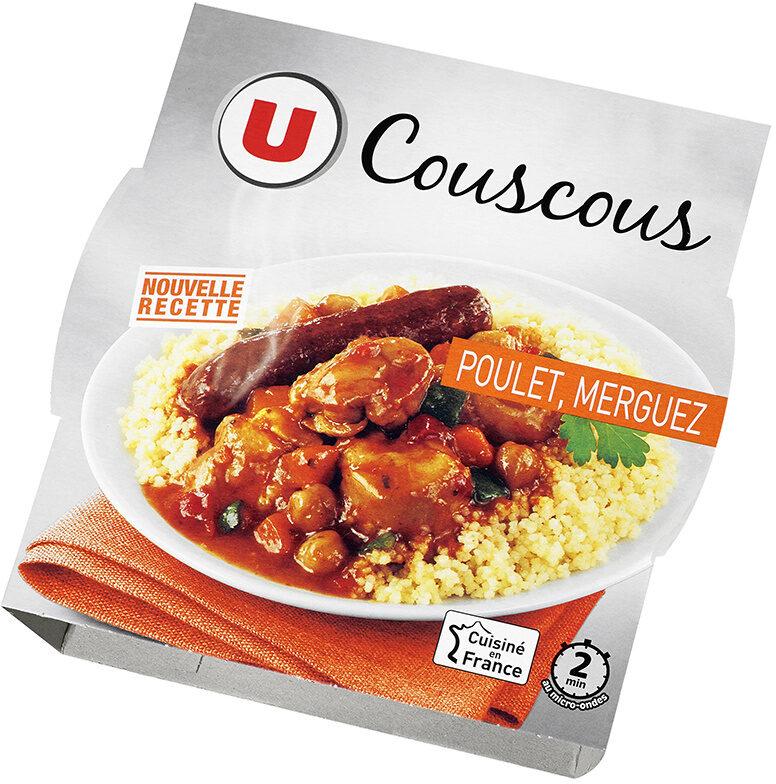 Couscous Poulet, merguez - Produit