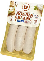 Boudin Blanc Nature - Product - fr