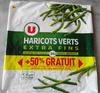 Haricots Verts Extra Fins - Surgelés (+ 50 % Gratuit) - Product