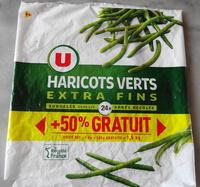 Haricots Verts Extra Fins - Surgelés (+ 50 % Gratuit) - Product - fr
