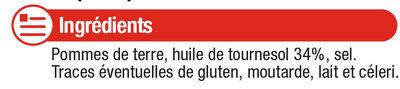 Chips nature - Ingrédients