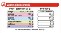 Chips Nature - Informations nutritionnelles - fr