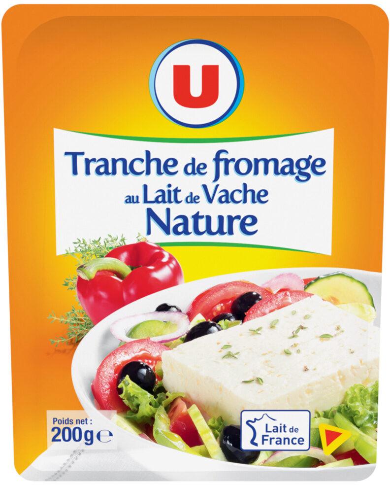 Fromage au lait pasteurisé Tranche du Soleil - Produit - fr