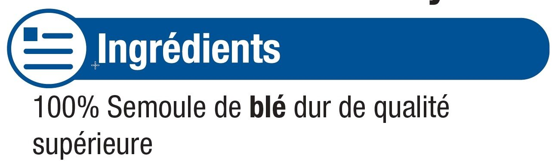 Graines de couscous moyen - Ingrédients - fr