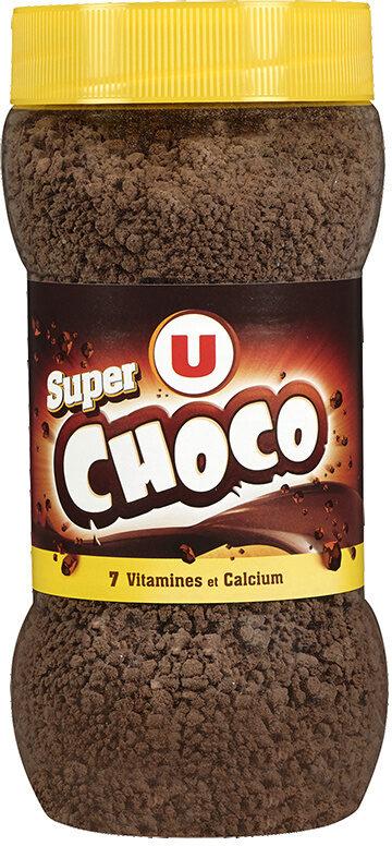 Boisson super chocolatée en granulé 7 vitamines et calcium - Product - fr