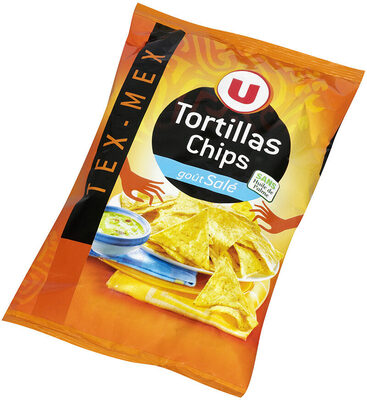 Tortilla chips goût salé - Produit - fr