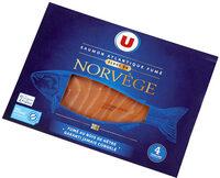 Saumon atlantique fumé Norvège - Produit - fr