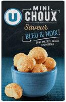 Mini choux saveur bleu et noix - Product