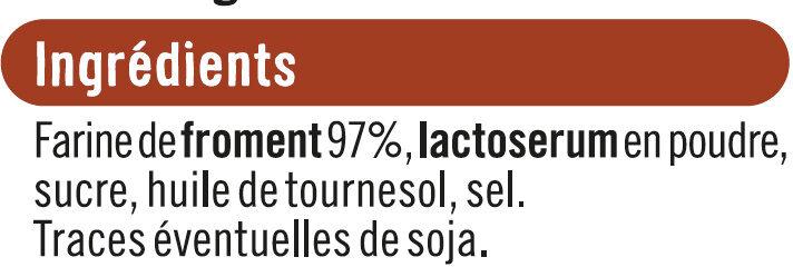 Tartines grillées craquantes au froment - Ingrédients - fr