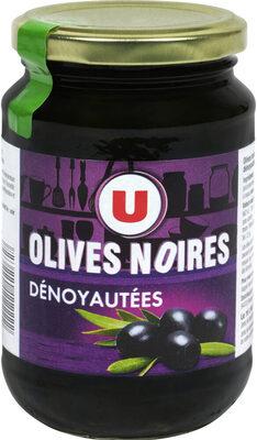 Olives noires confites dénoyautées - Produit - fr