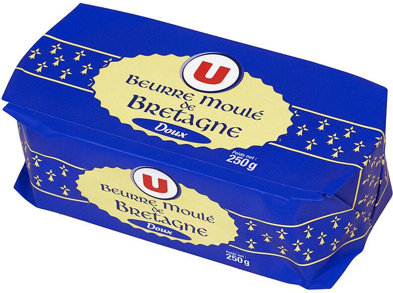 Beurre moulé de Bretagne doux 82% de MG - Product