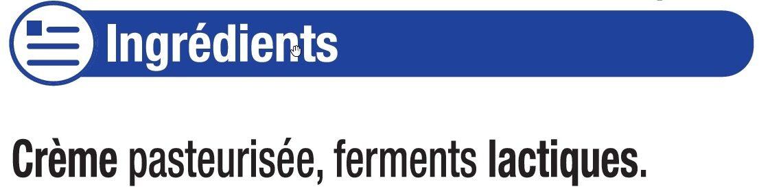 Beurre moulé de Bretagne doux 82% de MG - Ingrediënten