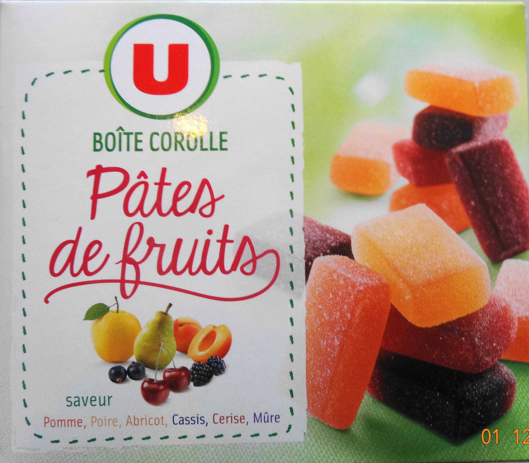 p 226 tes de fruits bo 238 te corolle saveurs pomme poire abricot cassis cerie m 251 re u 300 g