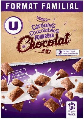 Céréales chocolatées et fourrées au chocolat - Product - fr