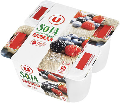 Spécialité au soja sucré fruits rouges - Produit