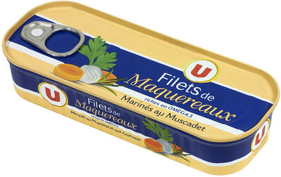 Filets de maquereaux au muscadet + aromates - Product